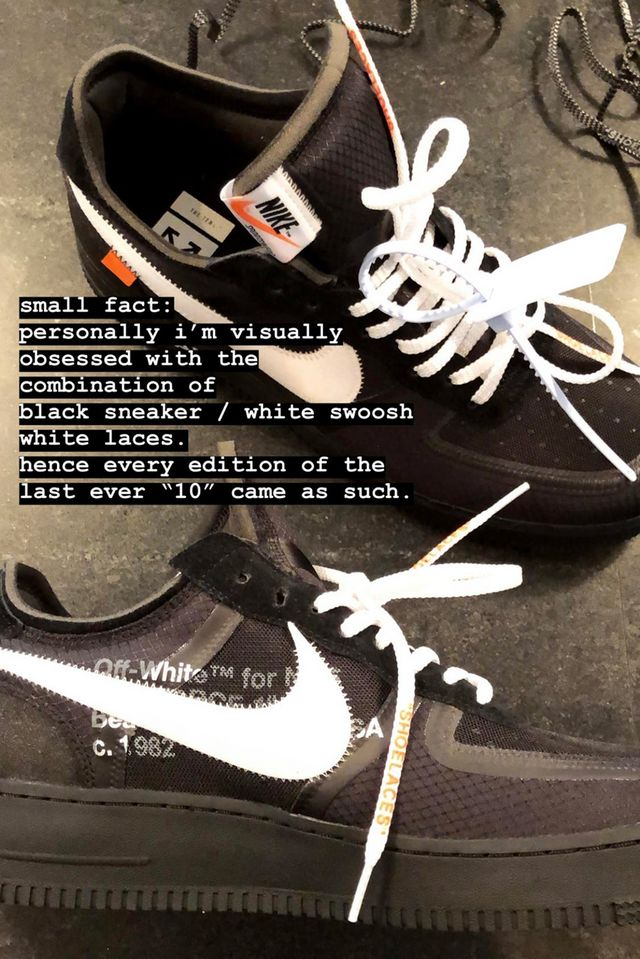 74f60ff81c5f25 Let us know your thoughts on Abloh s announcement and share your favorite  release from