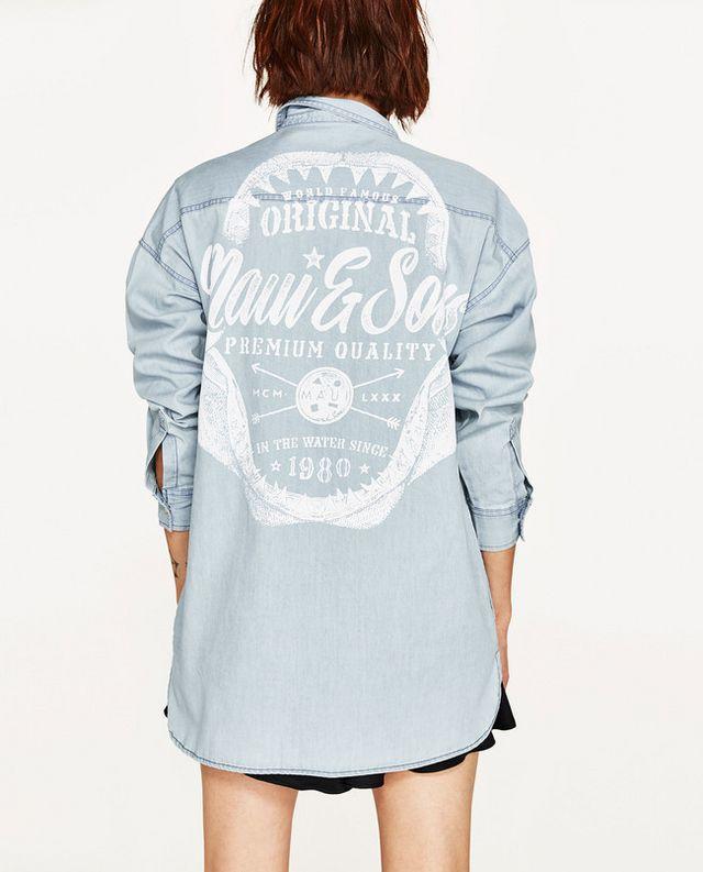 Esta colección cápsula se forma por camisas y chaquetas donde todo el  protagonismo reside ahí 1de8145636d26
