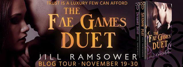 Review+Giveaway} The Fae Games Duet by Jill Ramsower | Book
