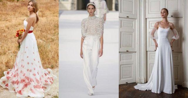 218fe5bbf01d Allora ragazze, siete pronte a scoprire quali sono gli abiti da sposa 2019  più belli e leggeri per l'estate? Continuate a leggere il post!
