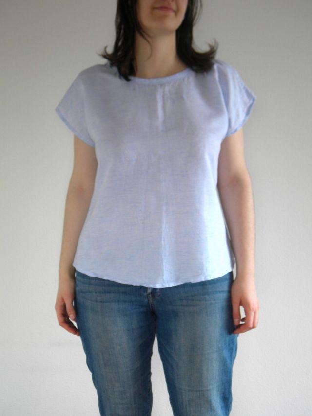Pattern Review: Designer Stitch Kat Weekend Top | Curvy Sewing ...