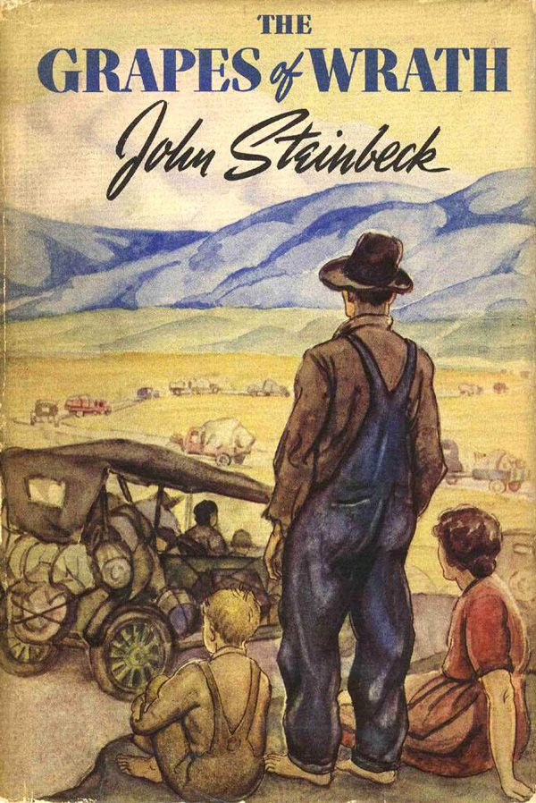 a critical analysis of john steinbecks the grapes of wrath Critical insights: the grapes of wrath current critical analysis by top of john steinbeck's novels, the grapes of wrath has stirred considerable.