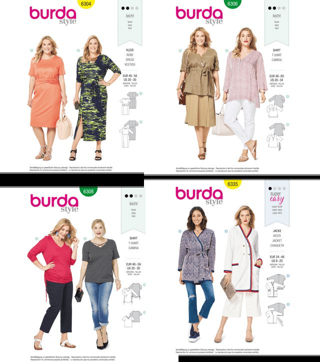 7dc4271aa6e New Pattern Roundup-Spring Edition! | Curvy Sewing Collective ...