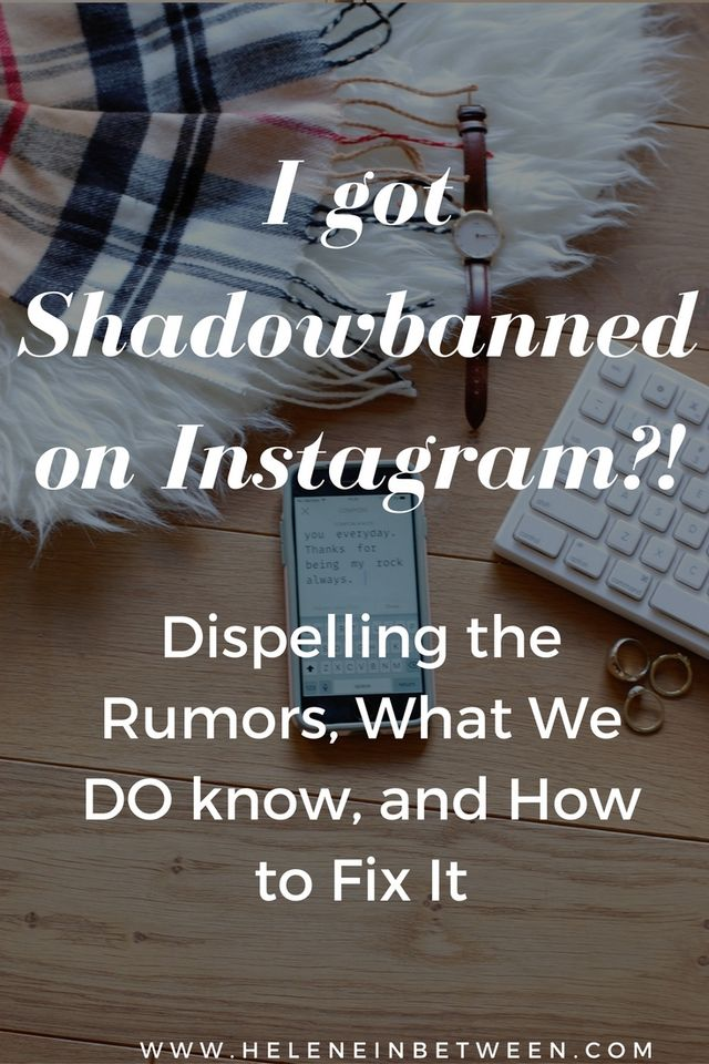 d001711f5cd I Got Shadowbanned By Instagram ! Dispelling the Rumors