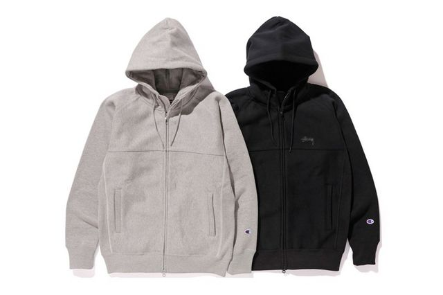 e04daa55f54 This Stüssy x Champion Hoodie Is the Perfect Fall Staple