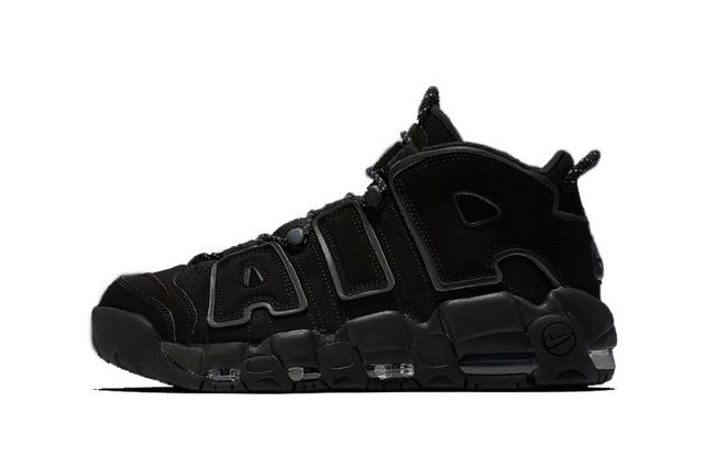 0abf251b9c A classic will soon be revisited as Nike will place a subtle twist onto its  Air More Uptempo model. Donning its notable black-on-black color scheme, ...