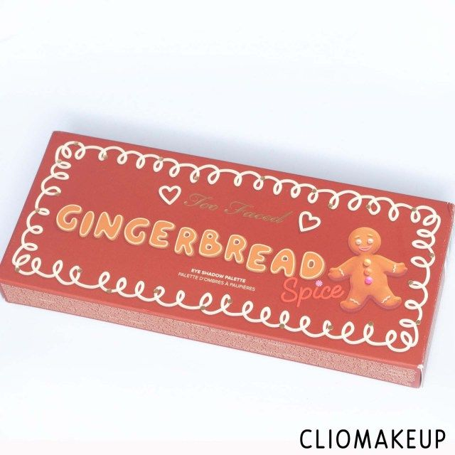 Recensione Palette Too Faced Gingerbread Spice Eye Shadow Palette ... 952553a4565