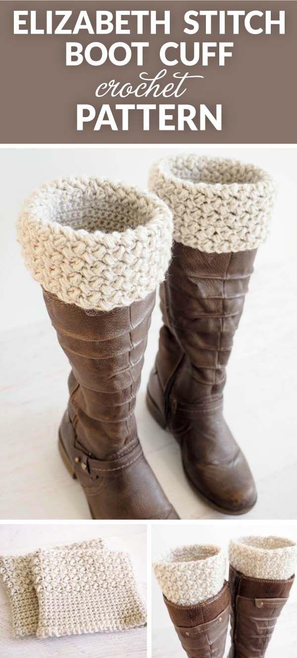 Boot Cuff Free Crochet Pattern Crochet Craftgossip Bloglovin