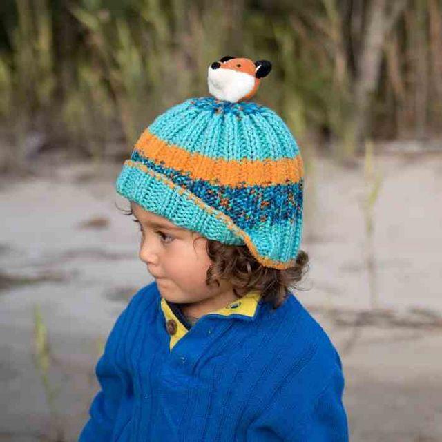 Kids Fox Hat Knitting Pattern  f5e4846c3f29