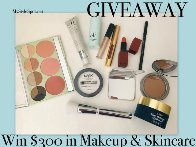 GIVEAWAY: Win $300 in Makeup & Skincare | MyStyleSpot net