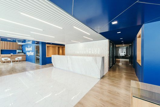 Dplus Intertrade Head Office Pure Architect Arch Daily