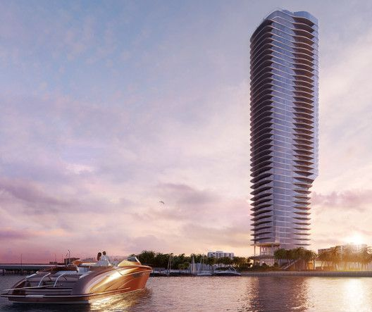 Madison Erects Giant Phallic Tower To >> As Gg Architecture To Design Yacht Inspired Tower In Miami Arch