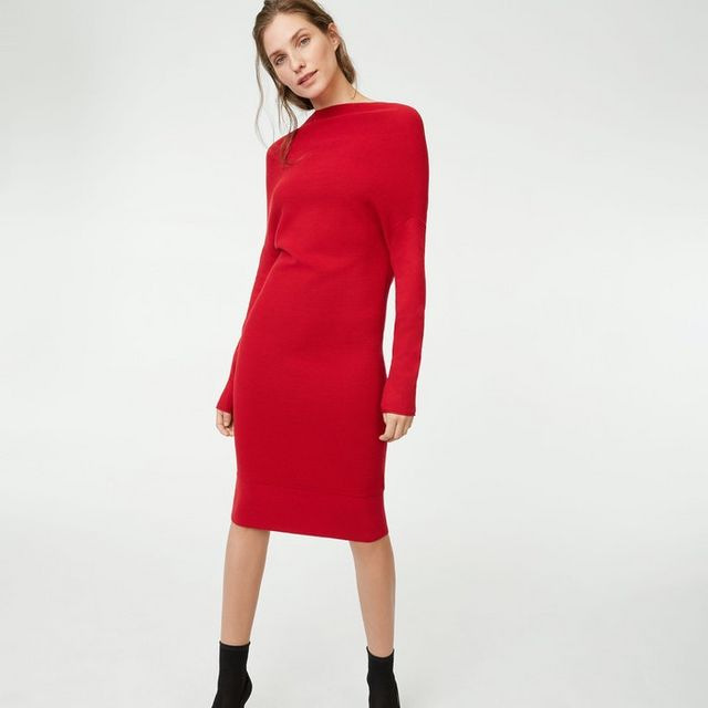 3b9c74be644 6 Sweater Dresses Under  100 In Club Monaco s Huge Sale (Along With ...