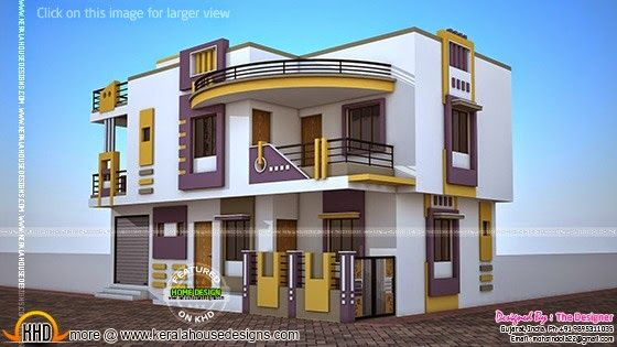 india contemporary house plan - First Floor Home Design Hd