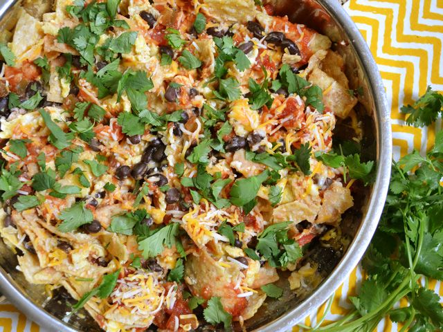 southwest breakfast scramble $5.73 recipe / $1.43 serving | Budget ...