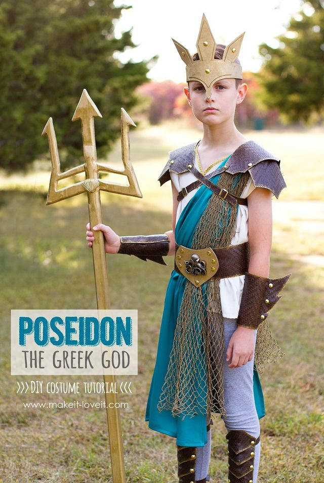 44bdc8716fe DIY Greek God Costume: POSEIDON | Make It and Love It | Bloglovin'