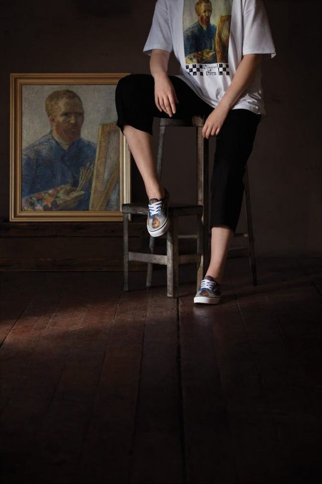 Vans Is Releasing a Van Gogh Fashion Line Inspired by the