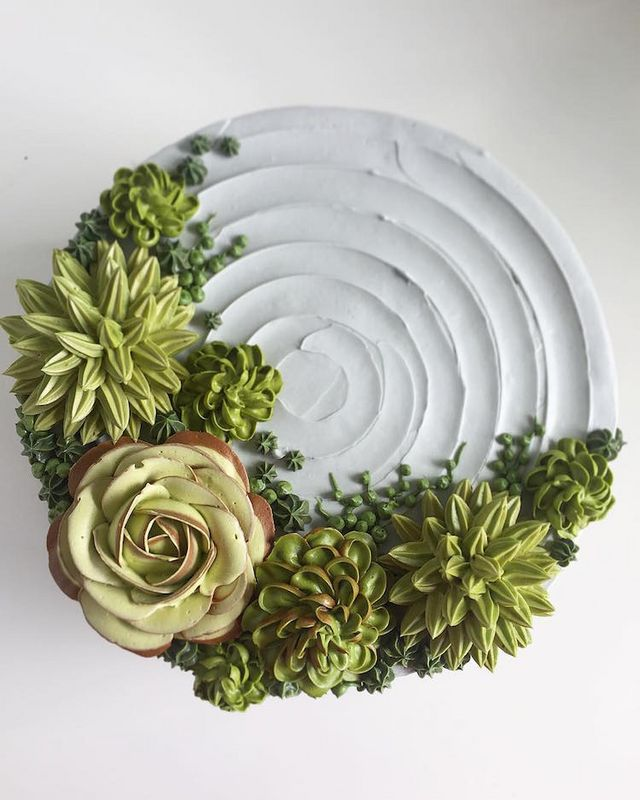 Incredible Design Ideas For Self Confessed Introverts: Baker Tops Nature-Inspired Cakes With Realistic