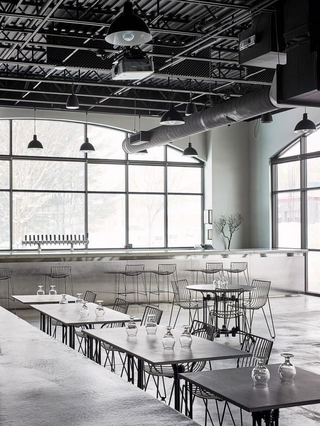 Bad Lab Beer Co A New Hampshire Brewpub With A Monochrome And