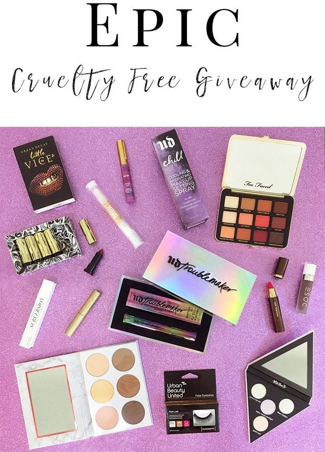 fb66eff4ca Epic Cruelty Free Giveaway | Phyrra | Bloglovin'