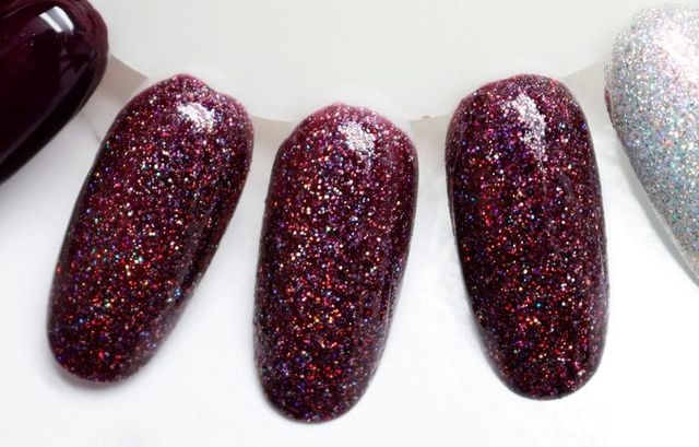 aaa1c5c7b297 Lady And The Vamp – Lisa from Cosmetic Sanctuary A plum color Mega Flame  polish with hints of maroon and aubergine.