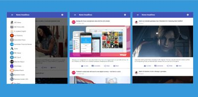 How To Build A News Application With Angular 6 And Material Design