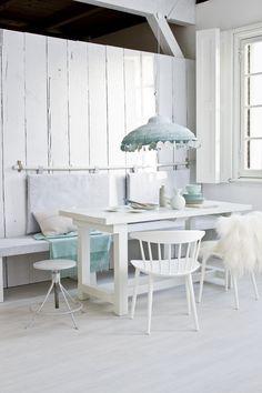 Witte eetkamer met b   vtwonen on Pinterest   Bloglovin\'