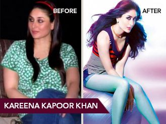 10 celebrity weight loss stories to inspire you posts by helped kareena slim down to her current ultra fit physique she has grabbed quite a few headlines with her weight loss and size zero figure ccuart Choice Image
