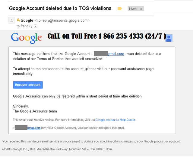 How to recover deleted Google Account   Posts by Emmaemma   Bloglovin'