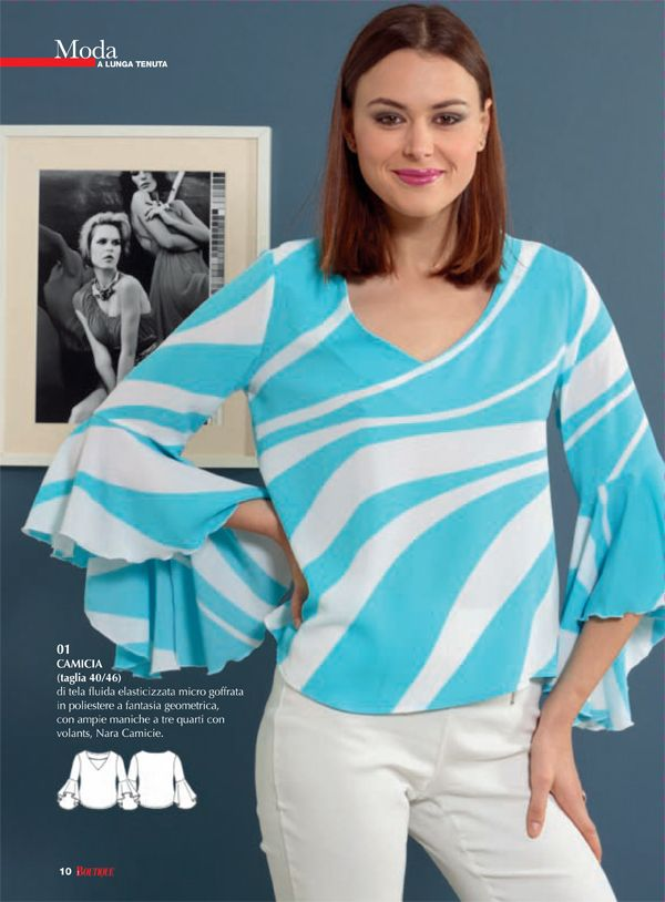 6aa882b32b1c This pattern is very similar to Blouse Chic Birdy by Kit by Klo As you may  remember