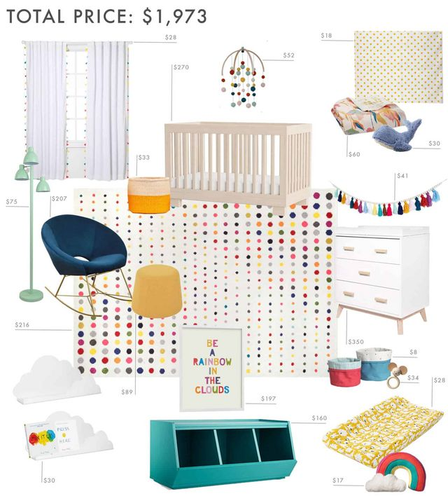 Budget Rooms Are Back With A Very Colorful Nursery Per Your Requests Emily Henderson Bloglovin